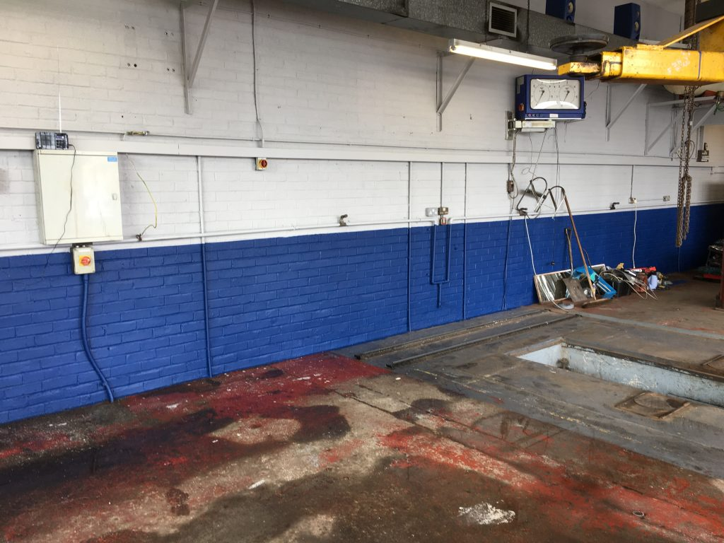 Refurbishing the workshops